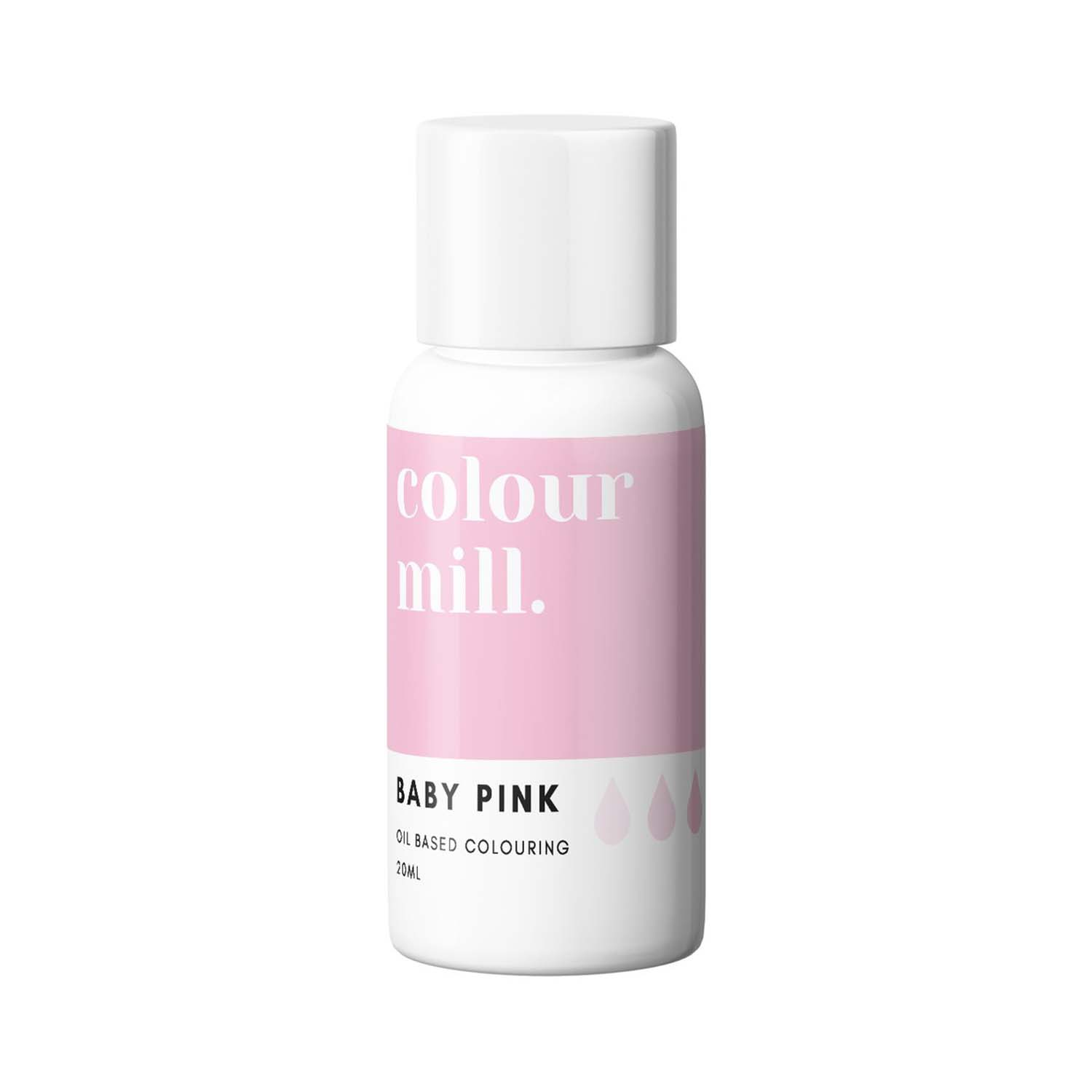 Baby Pink Colour Mill Oil Based Color