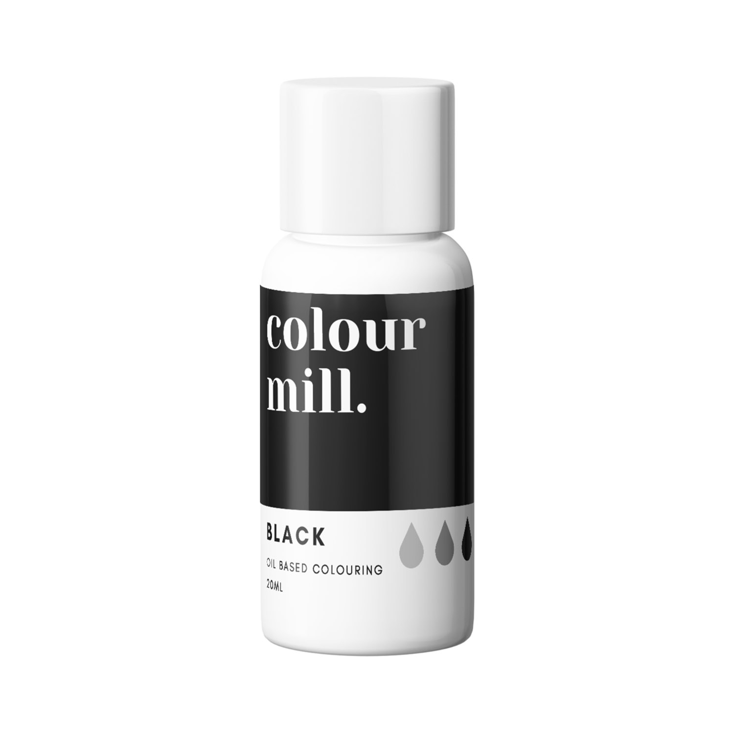 Black Colour Mill Oil Based Color