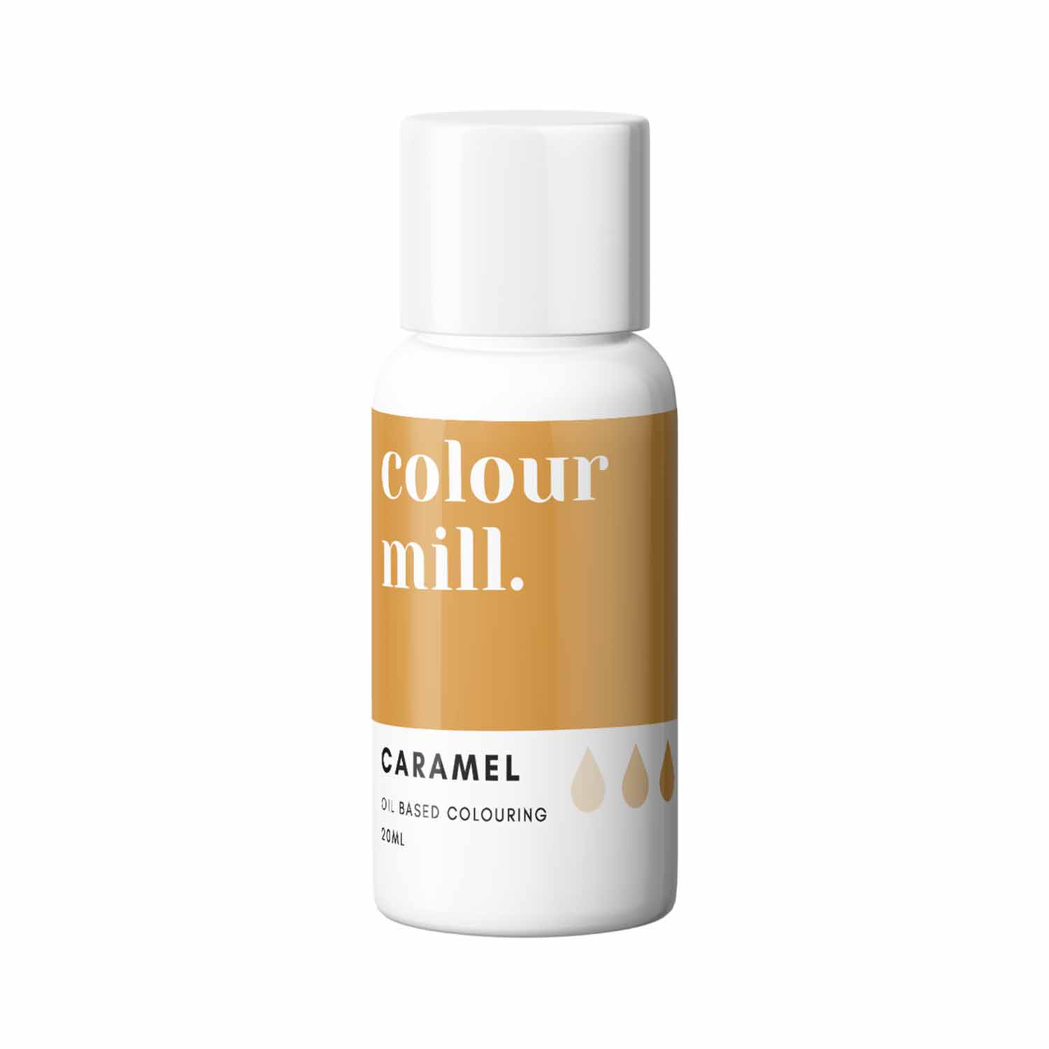 Caramel Colour Mill Oil Based Color