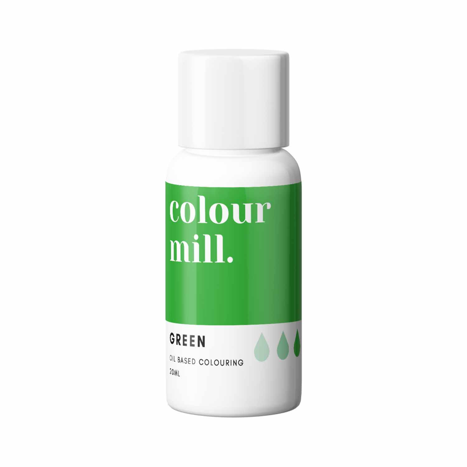 Green Colour Mill Oil Based Color