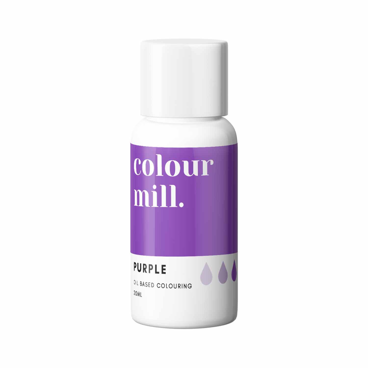 Purple Colour Mill Oil Based Color