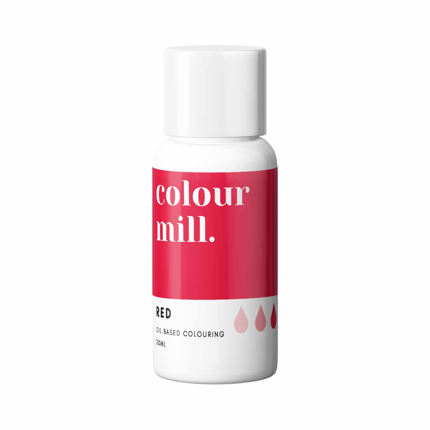 Red Colour Mill Oil Based Color