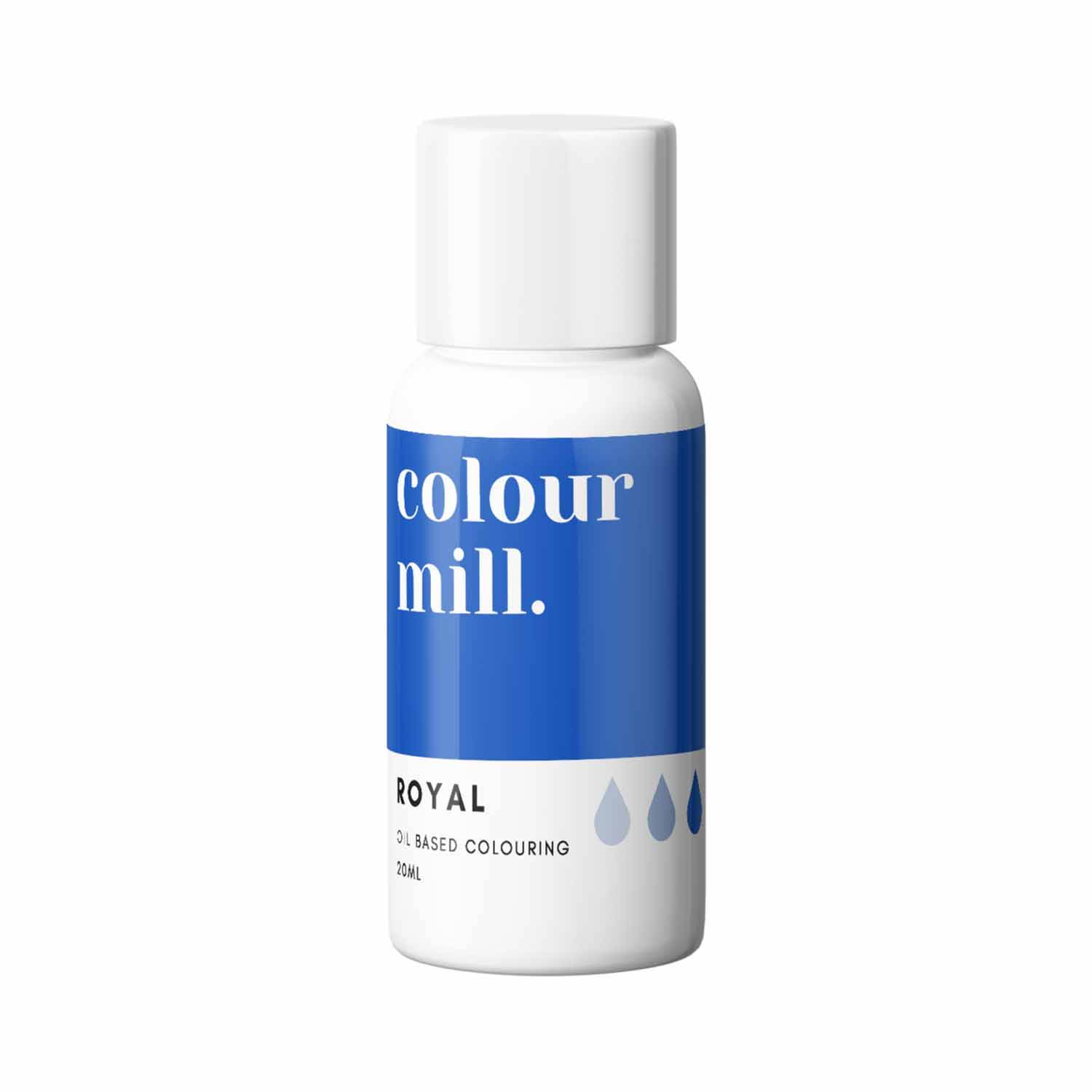 Royal Blue Colour Mill Oil Based Color