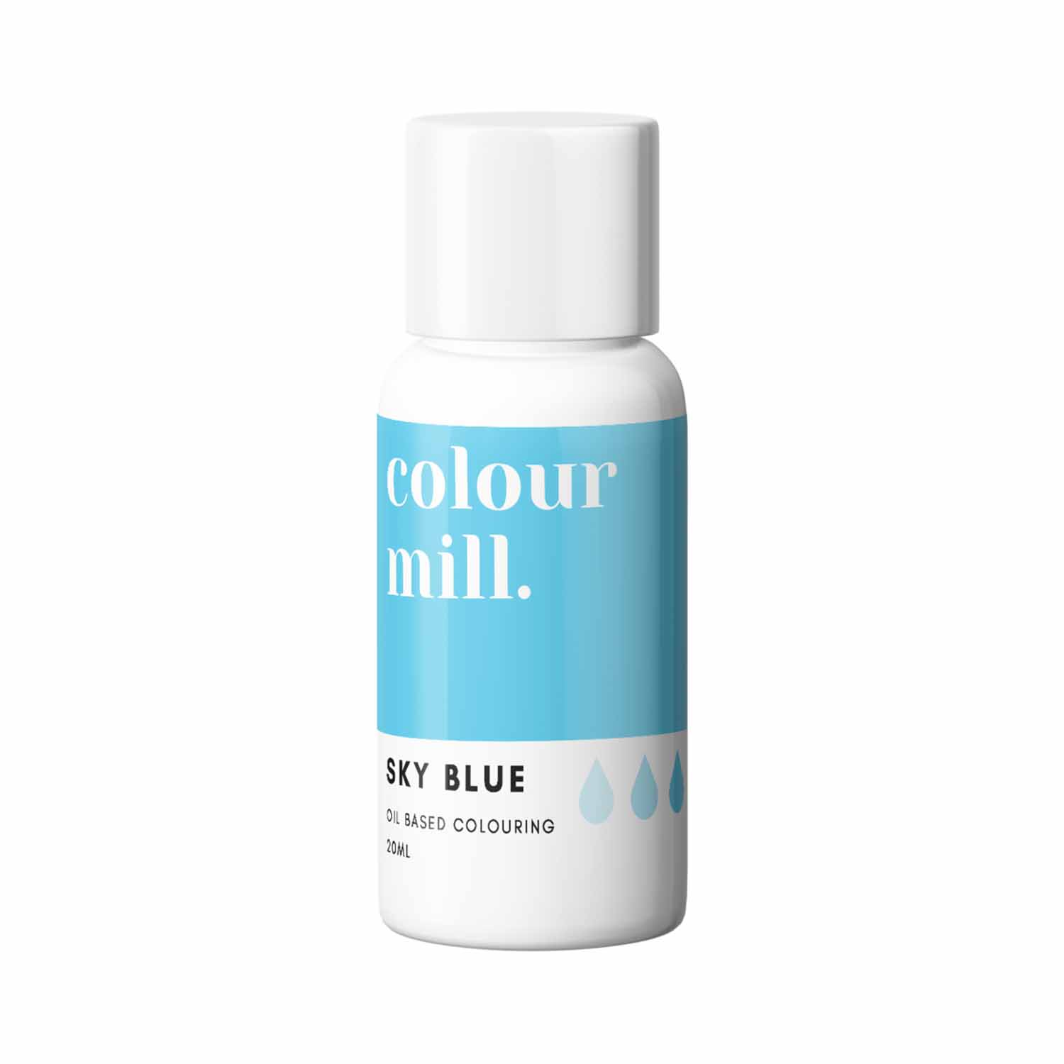Sky Blue Colour Mill Oil Based Color