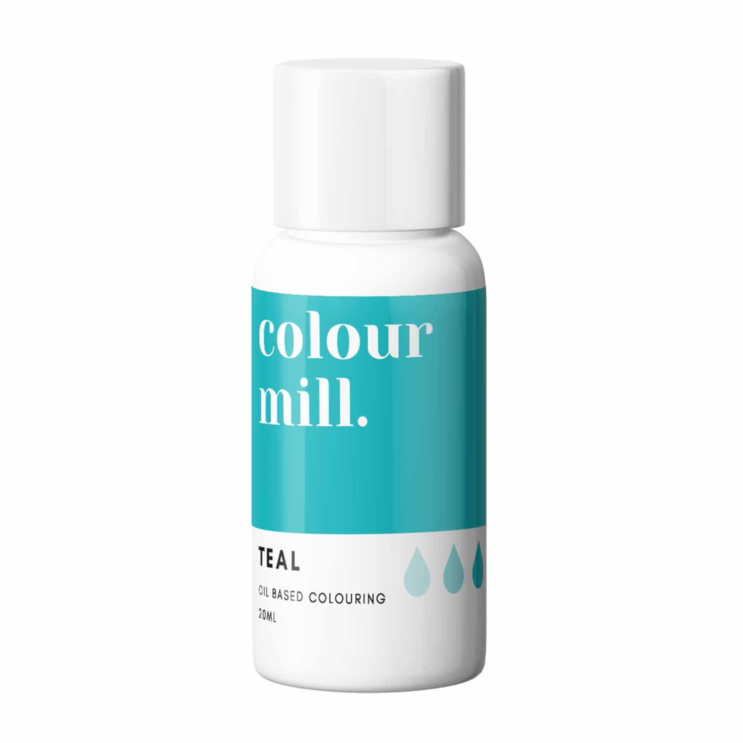 Teal Colour Mill Oil Based Color