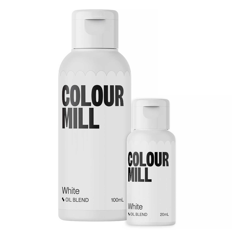 White Colour Mill Oil Based Color