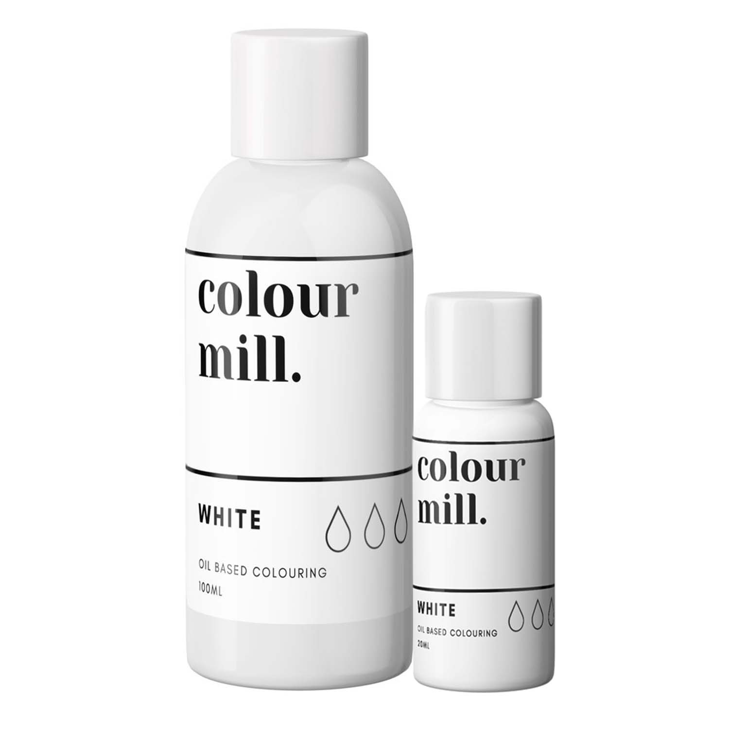 White Colour Mill Oil Based Color