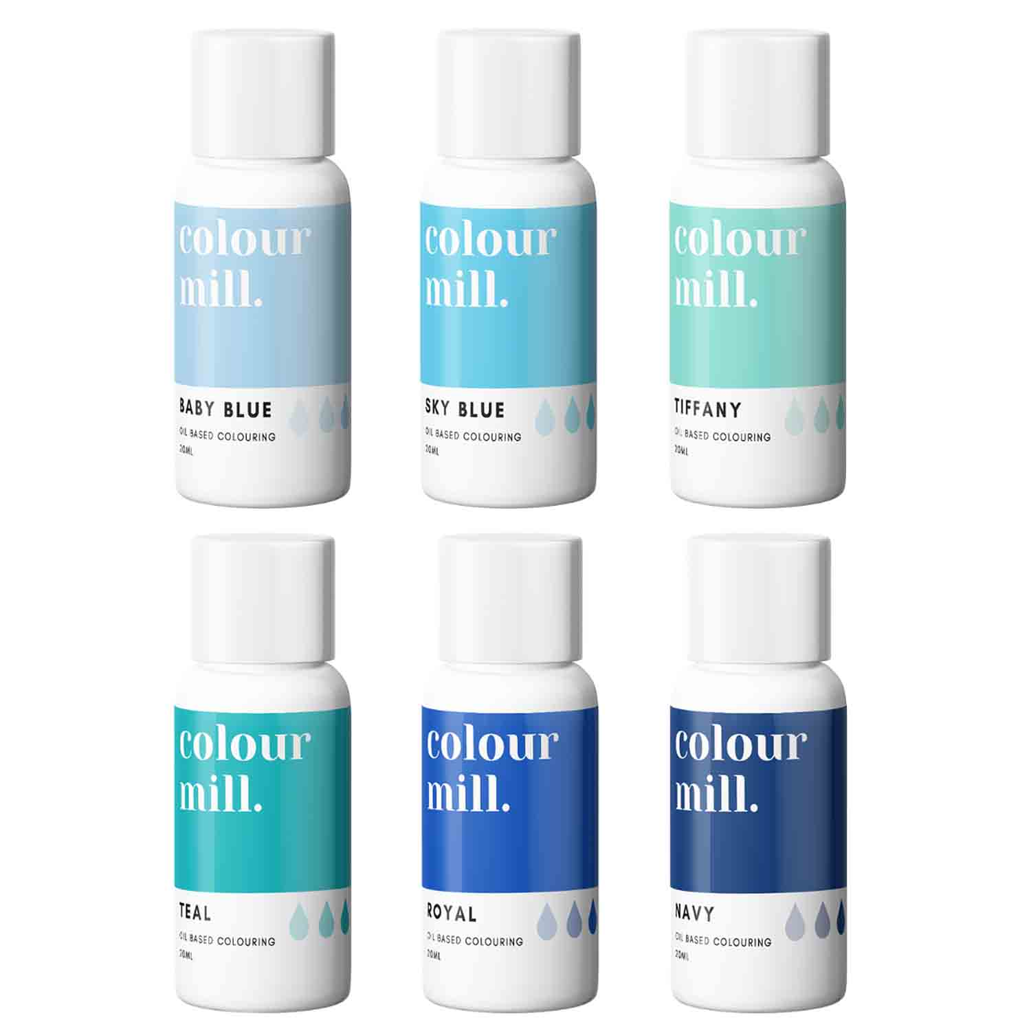 Blue Pack Colour Mill Oil Based Color
