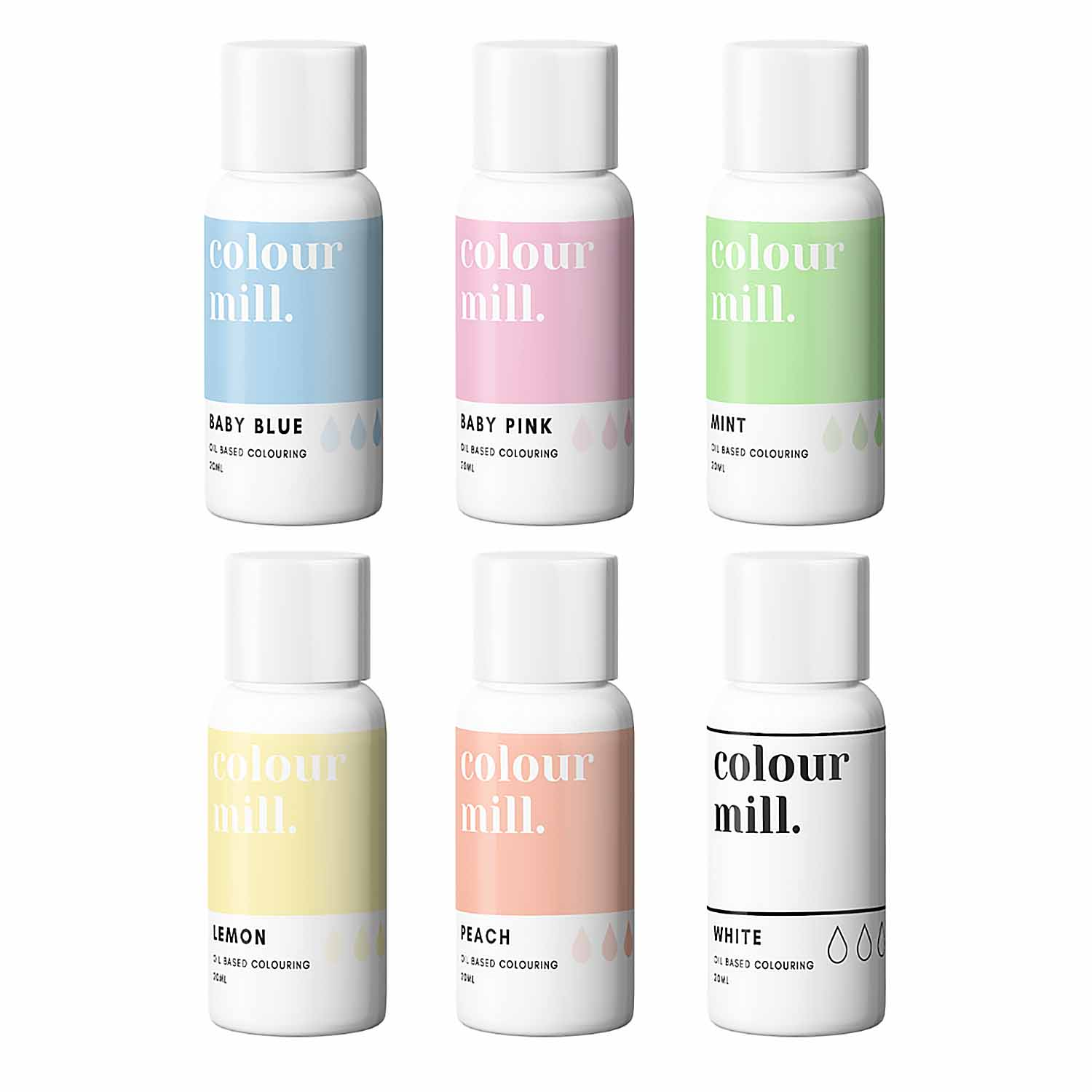 Pastel Pack Colour Mill Oil Based Color
