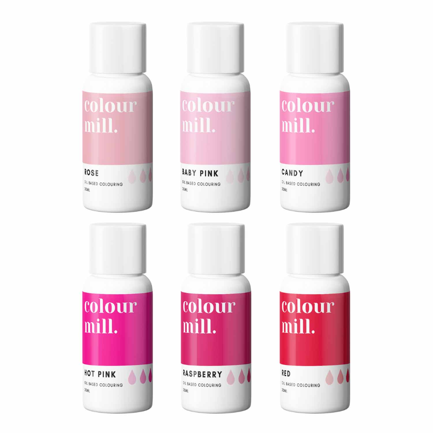 Pink Pack Colour Mill Oil Based Color