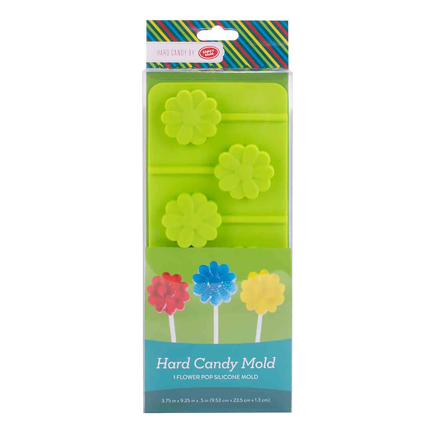 Flower Pops Hard Candy Mold