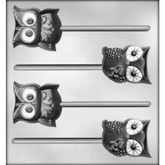 Owl Sucker Chocolate Candy Mold