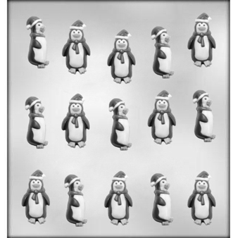 Penguins Chocolate Candy Mold