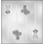Chicks and Bunnies Sucker Chocolate Candy Mold