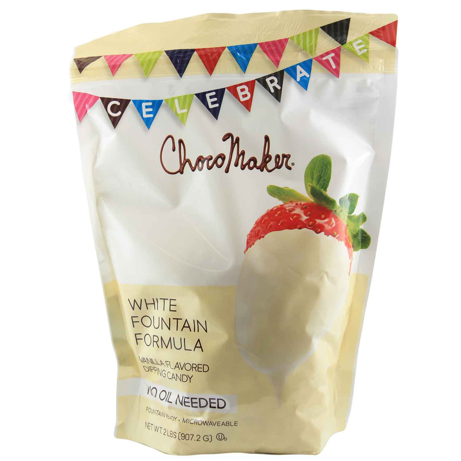 ChocoMaker White Chocolate Flavored Fountain Candy Coating