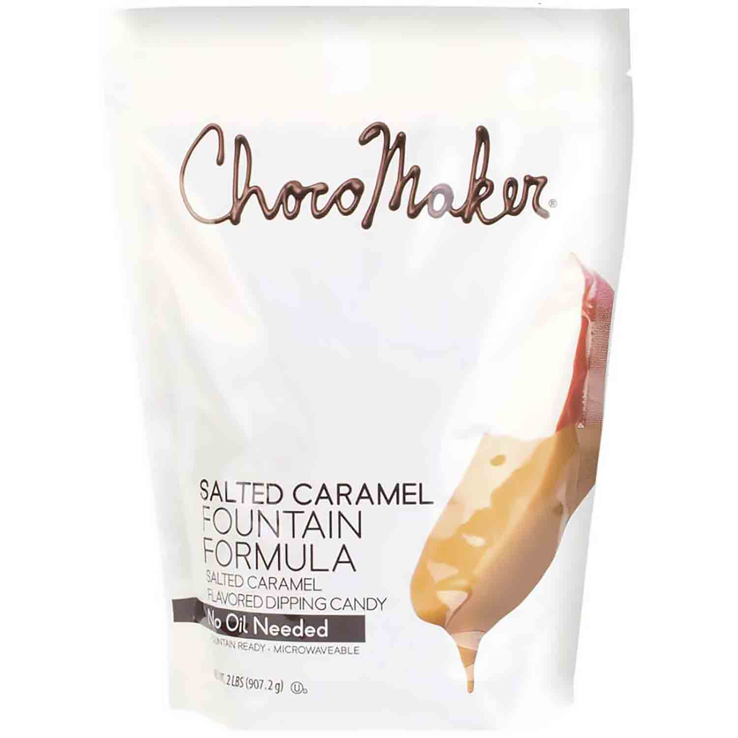 ChocoMaker Salted Caramel Flavored Fountain Candy Coating