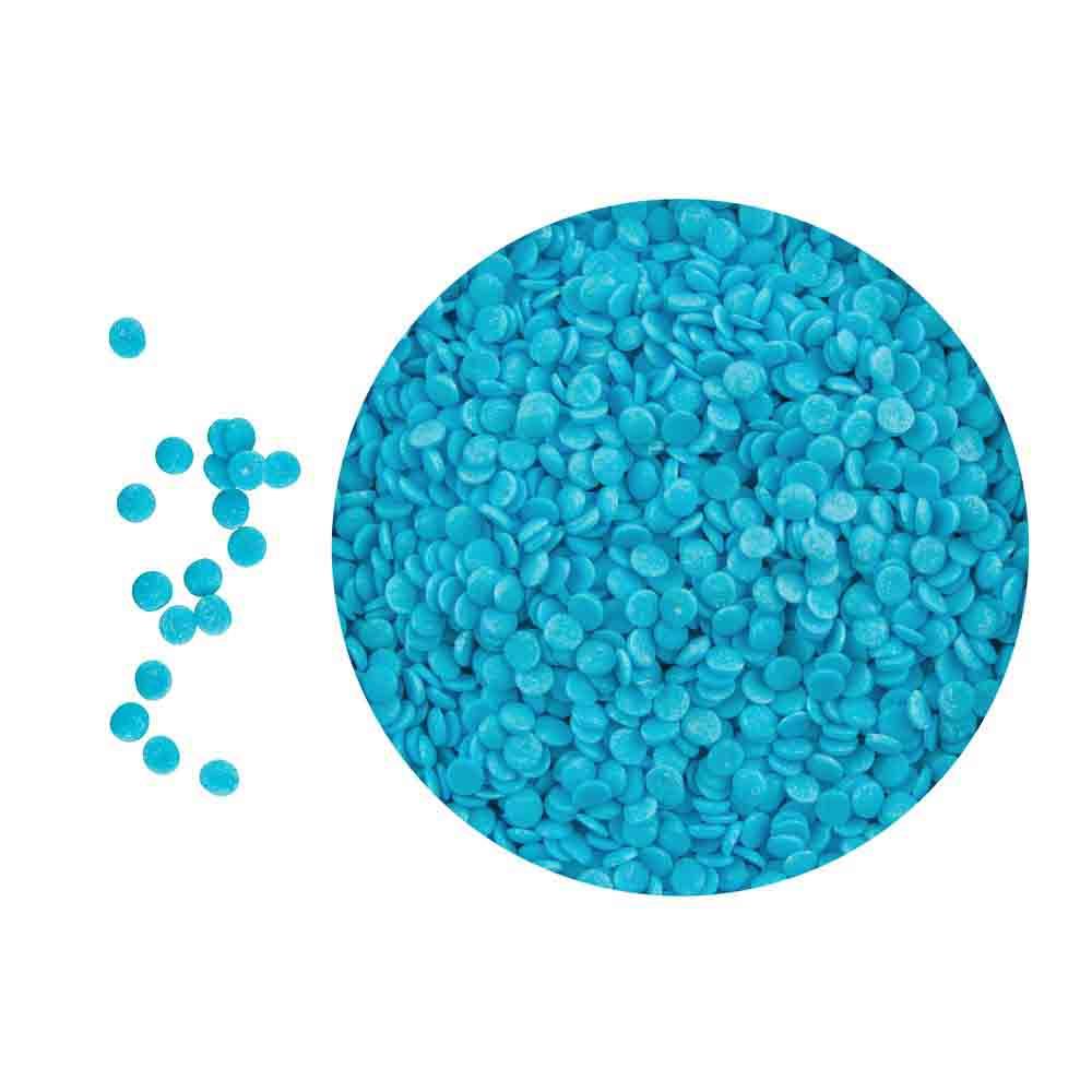 Bright Blue Shimmer Confetti Sprinkles