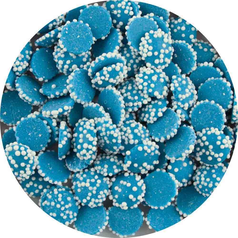 Bright Blue Mint Drops