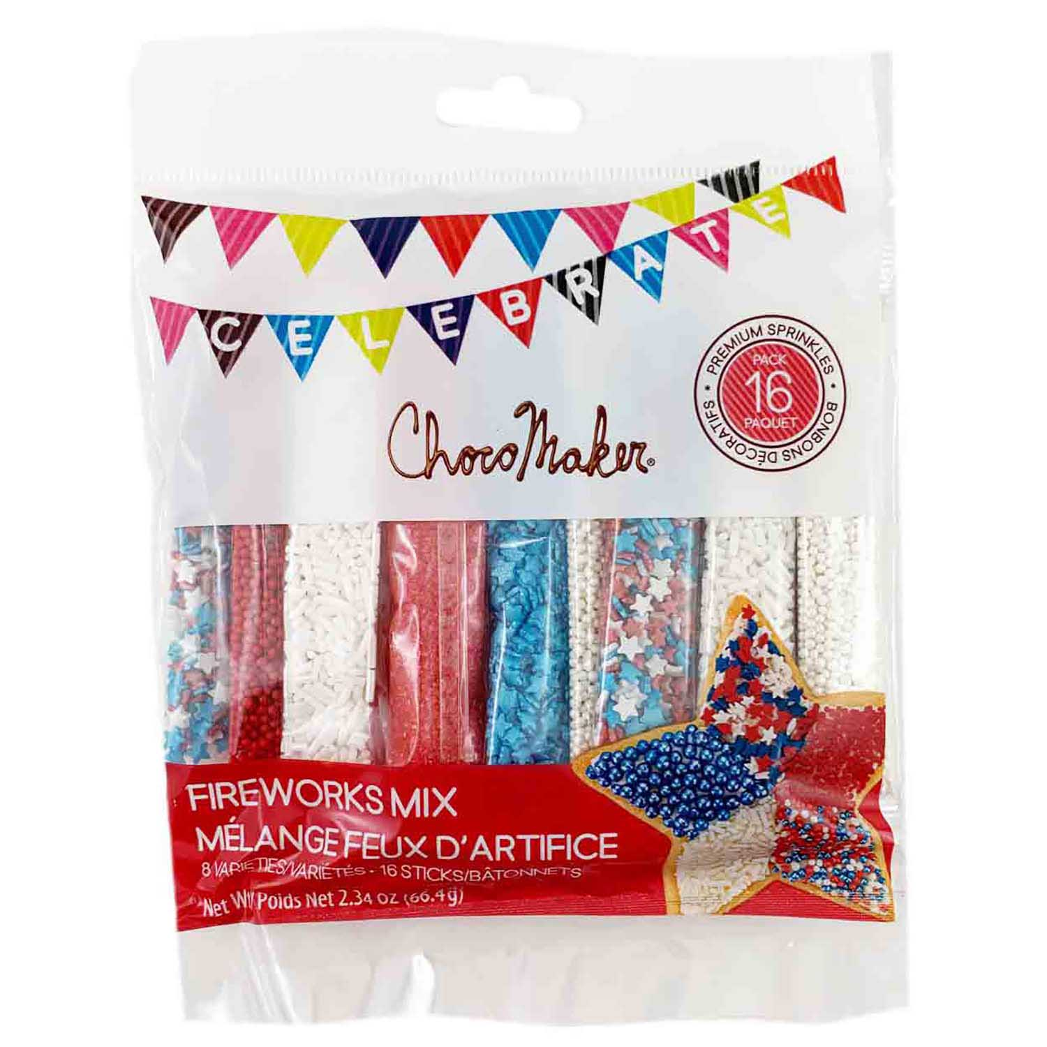 Fireworks Sprinkle Mix