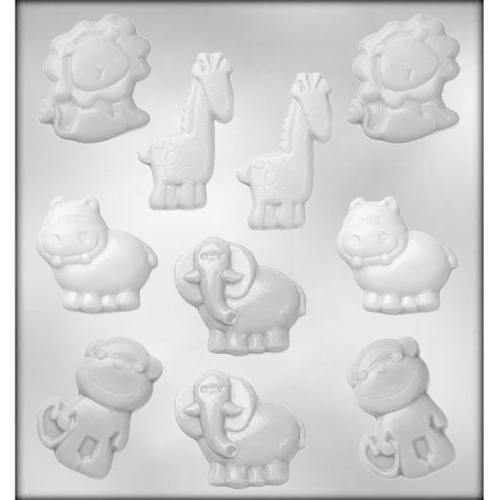 Baby Animals Chocolate Candy Mold