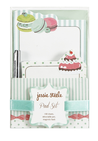 Macarons Note Pad Set