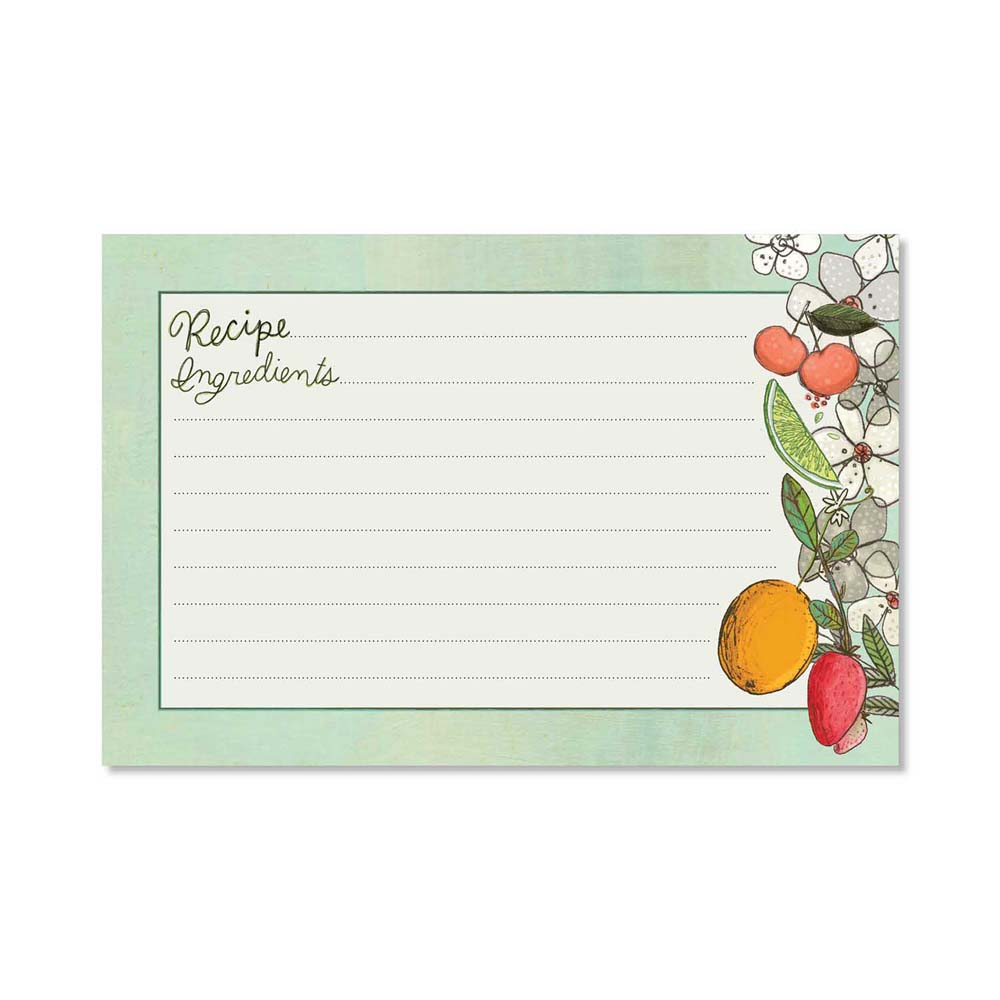 Recipe Cards - Fruit Fusion