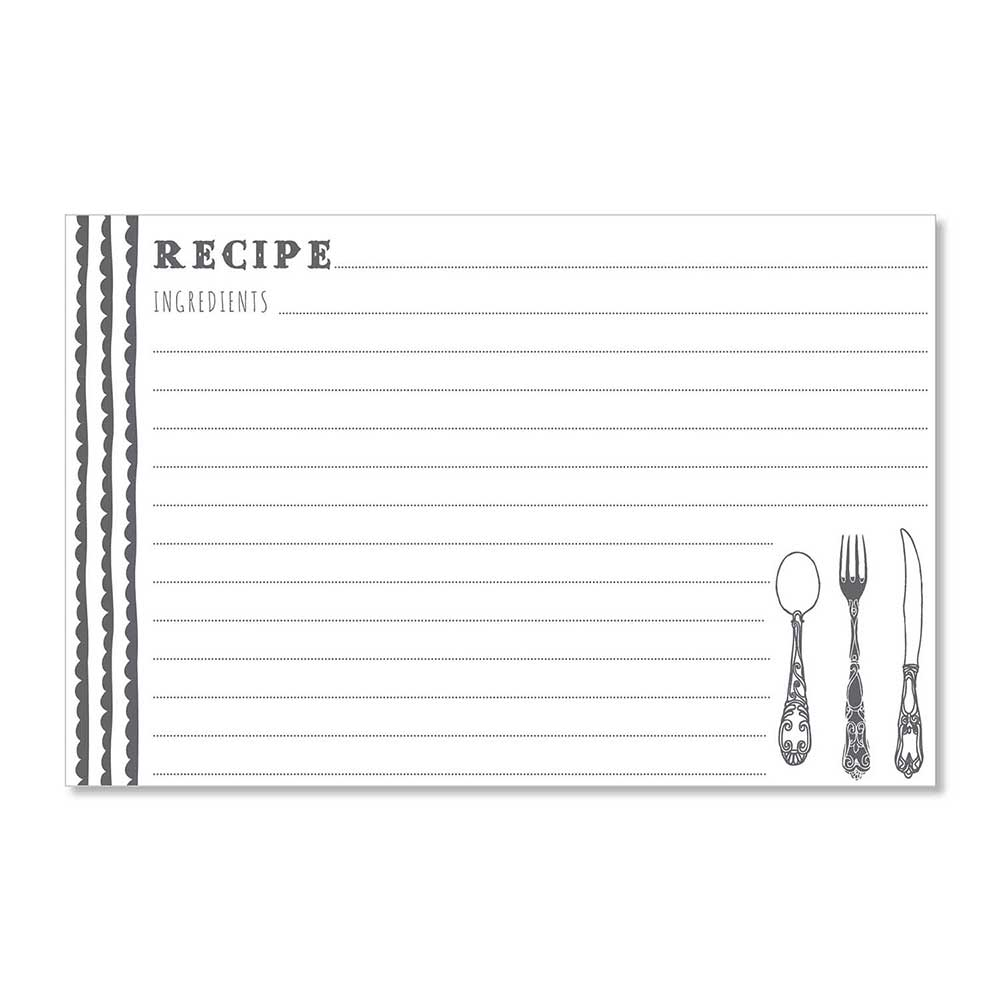 Recipe Cards - Delicious Scallops