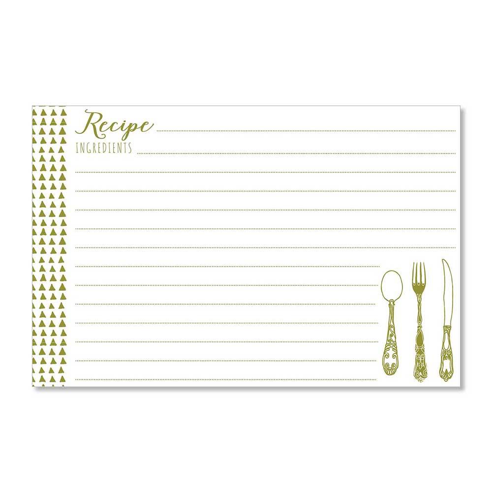 Recipe Cards - Yummy Triangles
