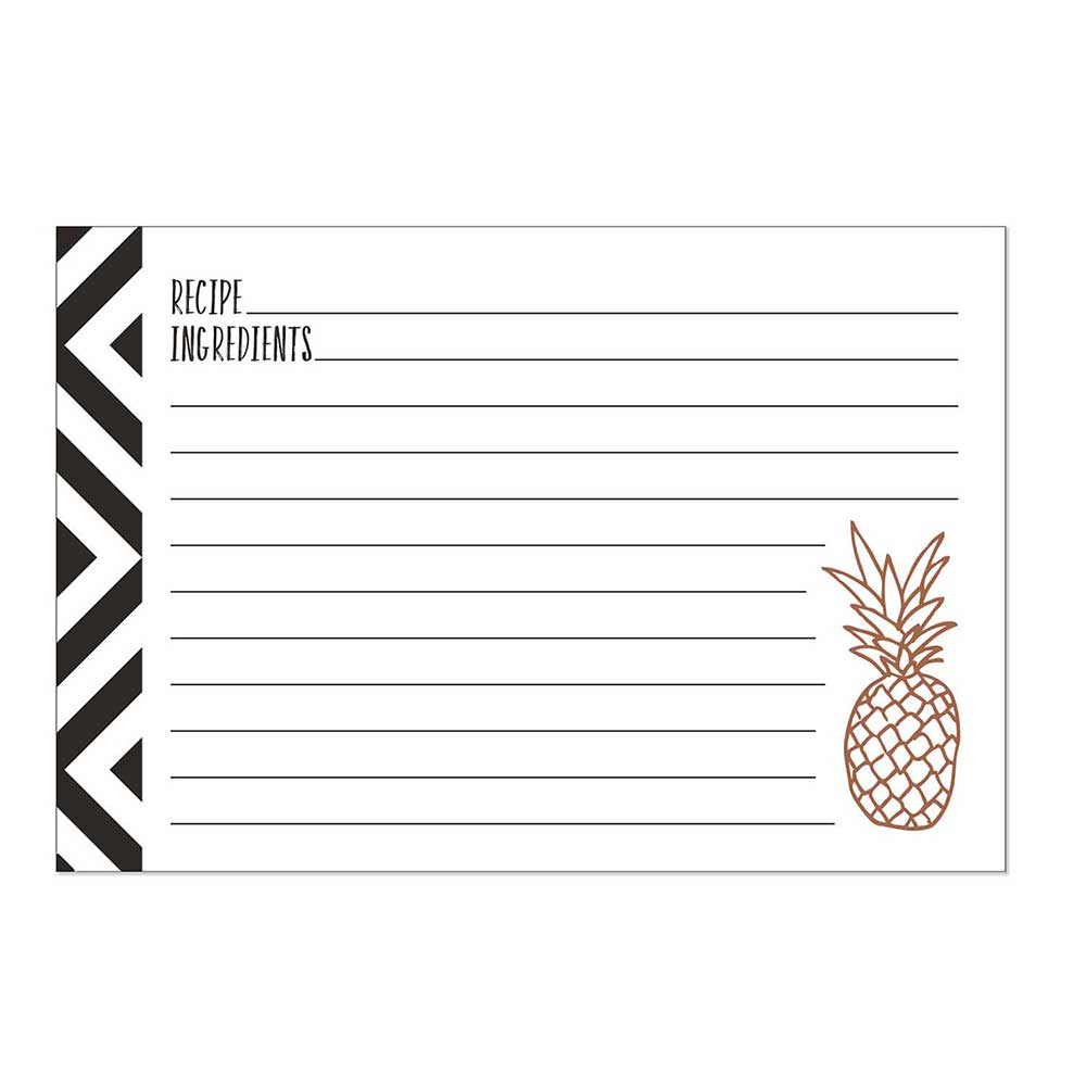 Recipe Cards - Crème de la Crème