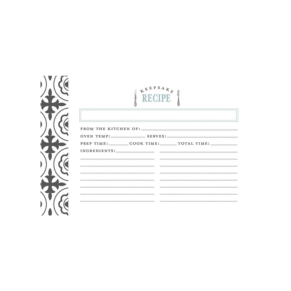 Recipe Cards - Farmhouse