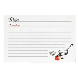 Recipe Cards - A La Carte