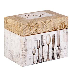 Recipe Box - Perfect Setting