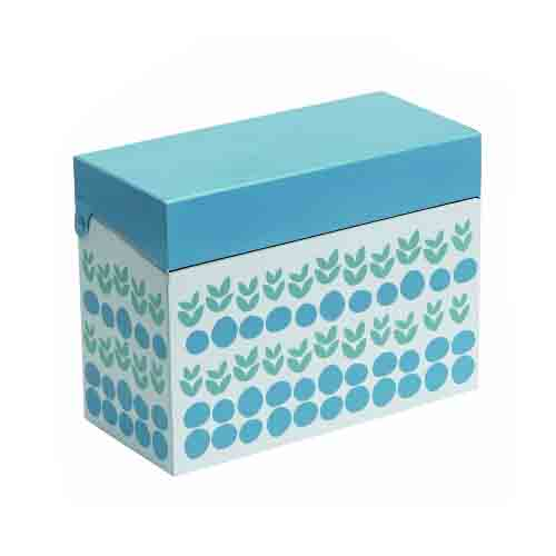Recipe Tin Box - Fresh