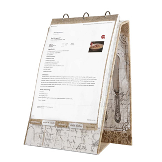 Cookbook Holders, Recipe Cards and Boxes, Notecards and Stationary