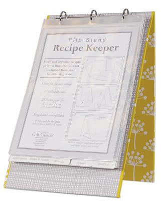 Recipe Flip Stand - Fresh
