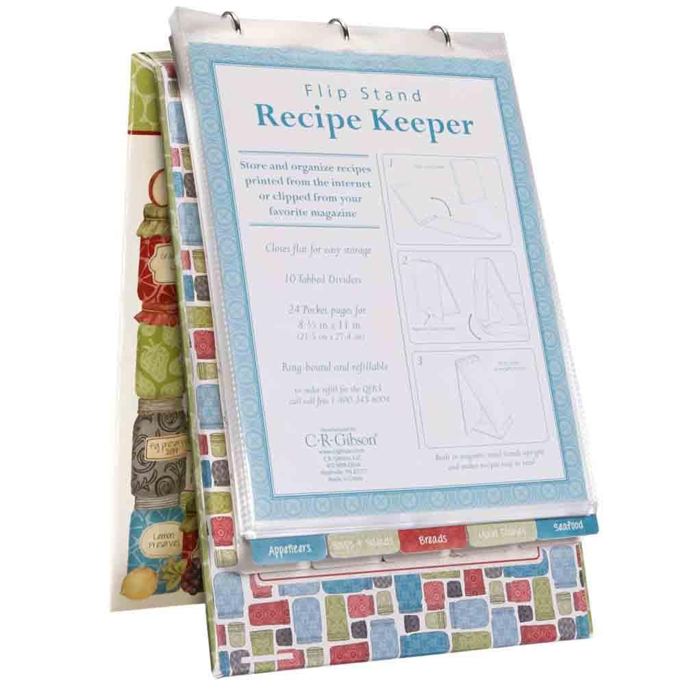 Recipe Flip Stand - Homemade Pantry