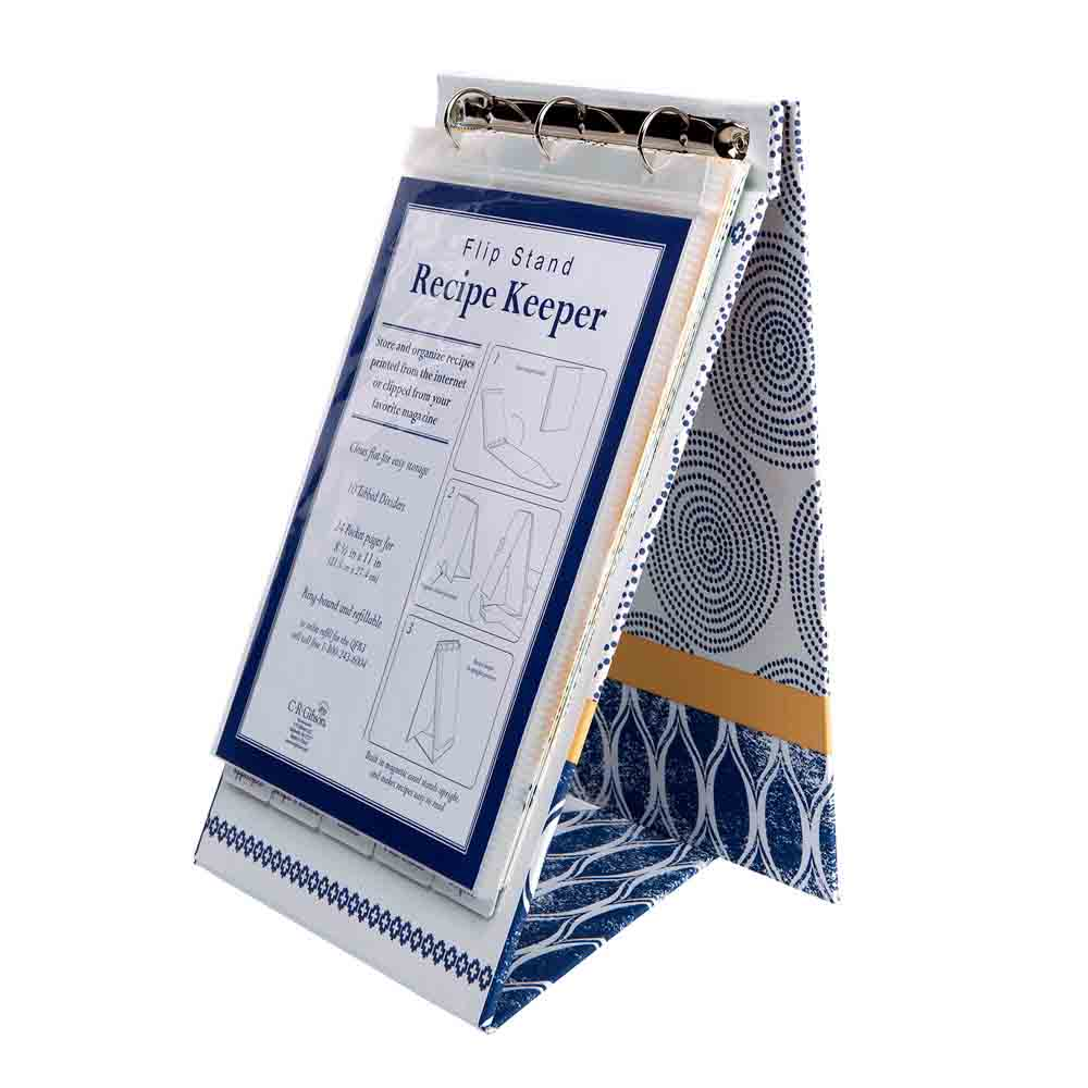 Recipe Flip Stand - Art of Cooking