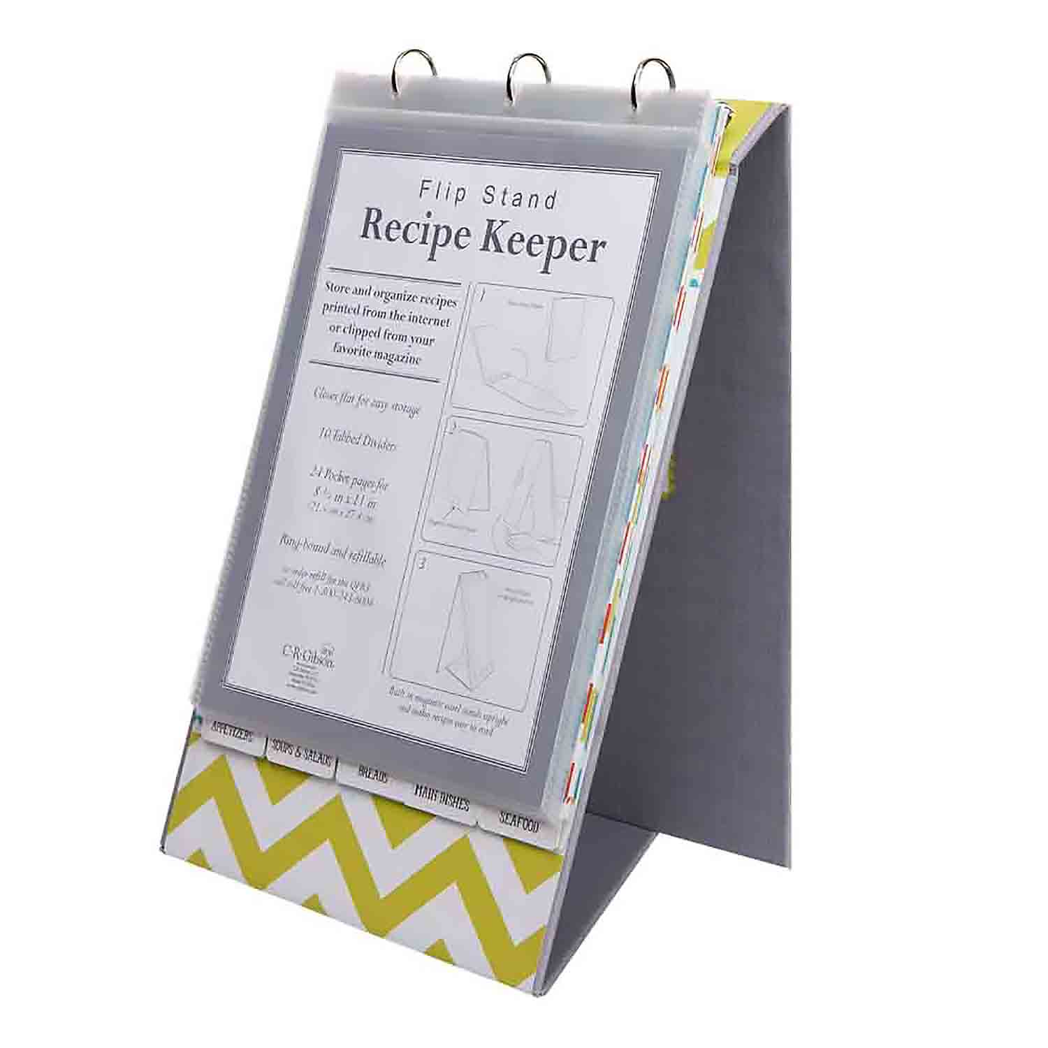 Recipe Flip Stand - Kitchen Gear