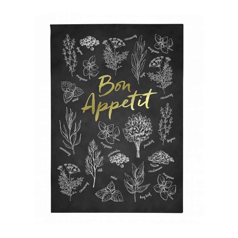 Recipe Flip Stand - Chalkboard Herb