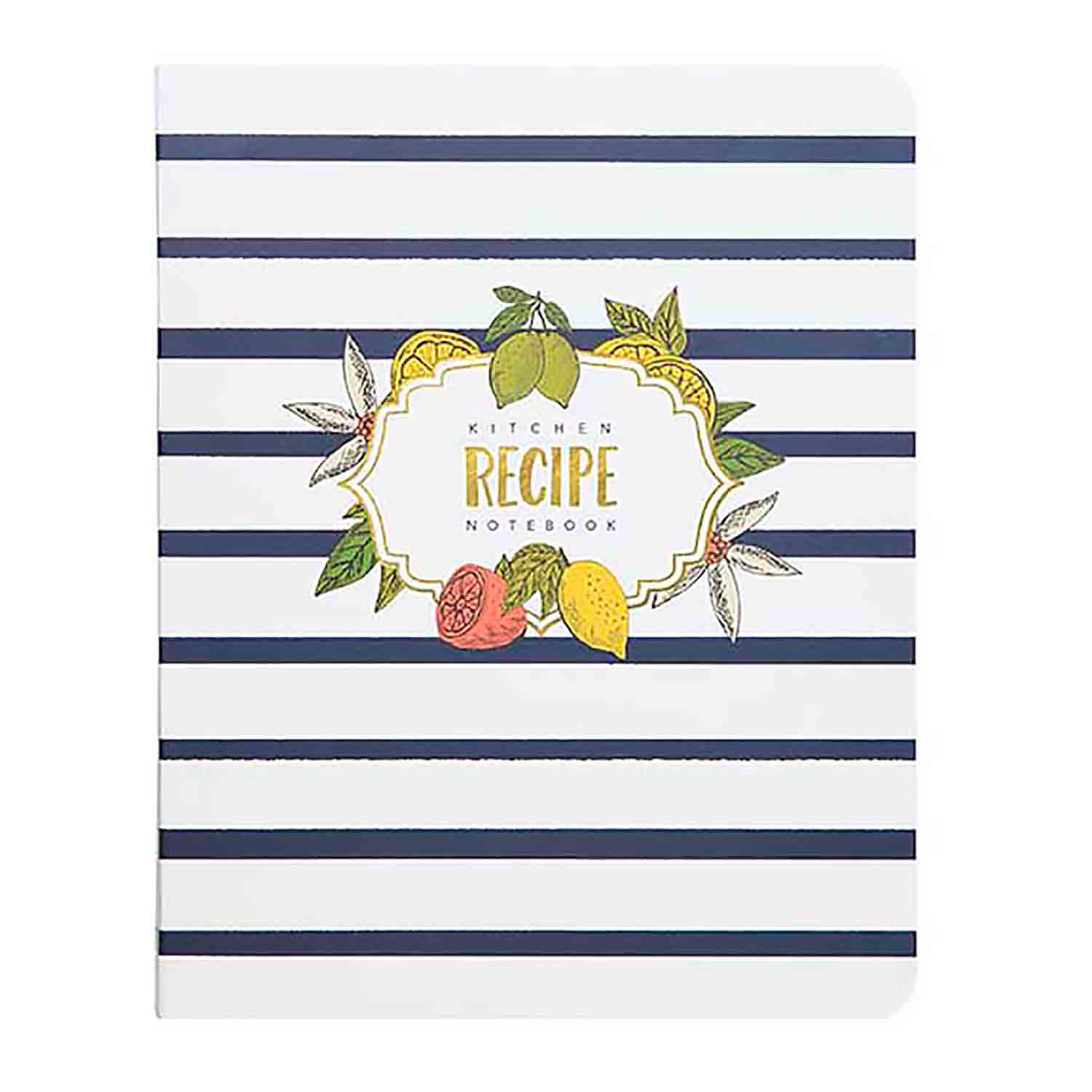 Recipe Notebook - Lemon Drop