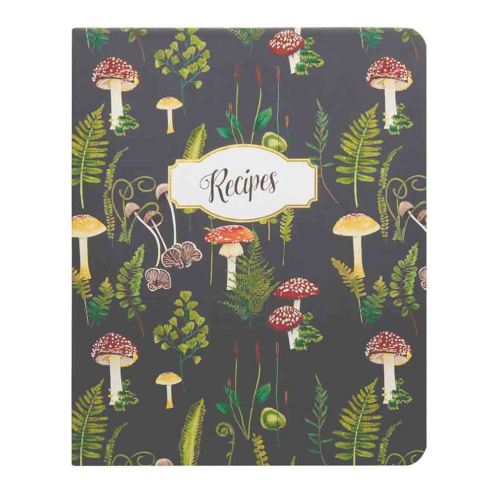 Recipe Notebook - Mushroom Botanical