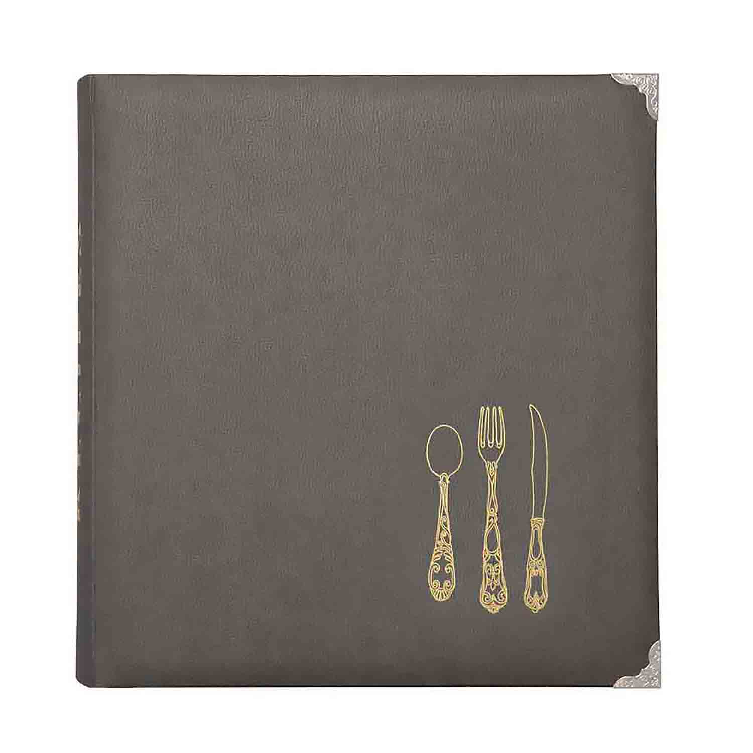 Recipe Binder - Gray
