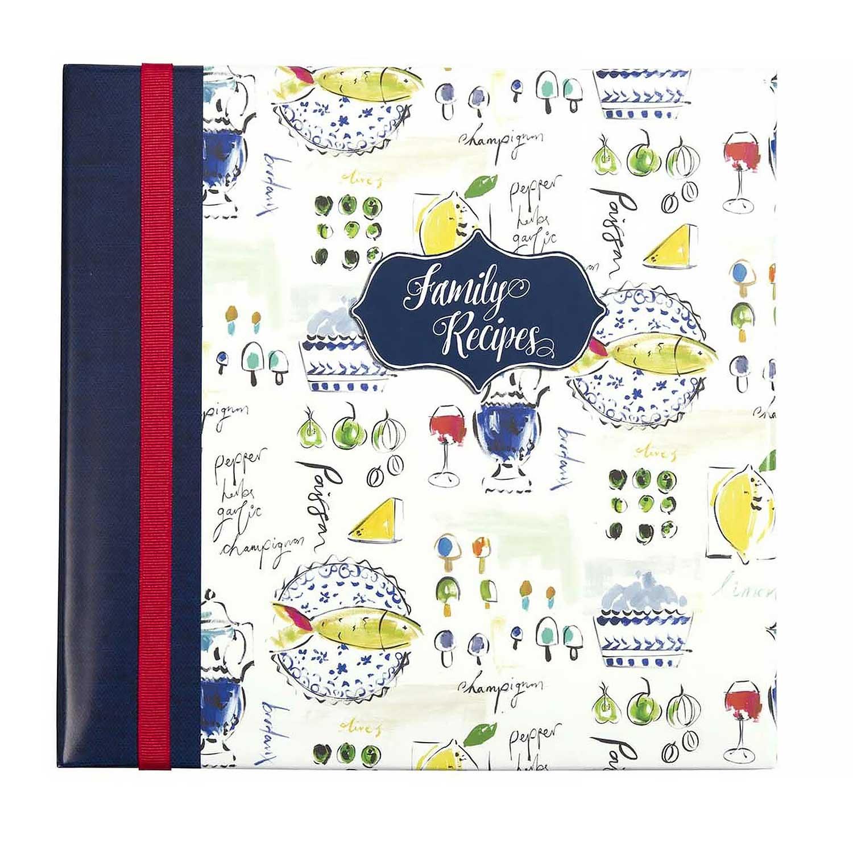 Recipe Memory Book - Provence