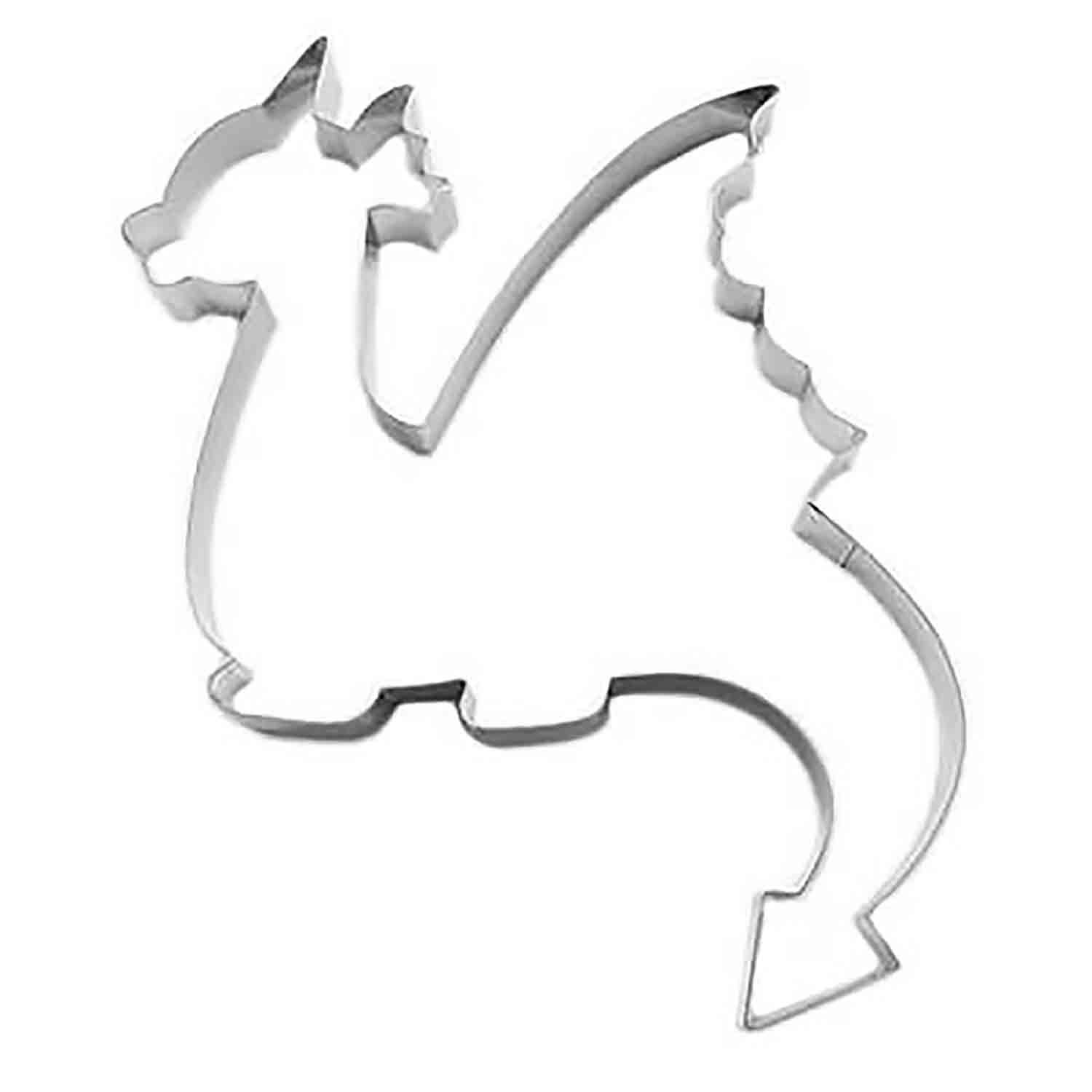 Fire Dragon Cookie Cutter