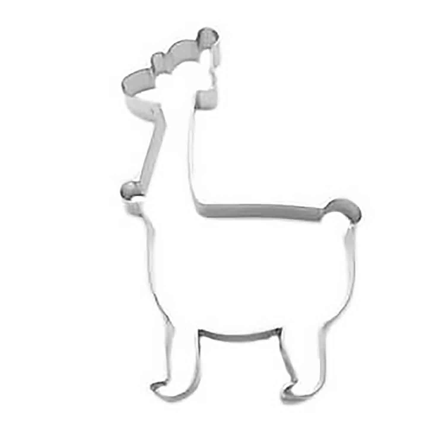 Christmas Llama Cookie Cutter