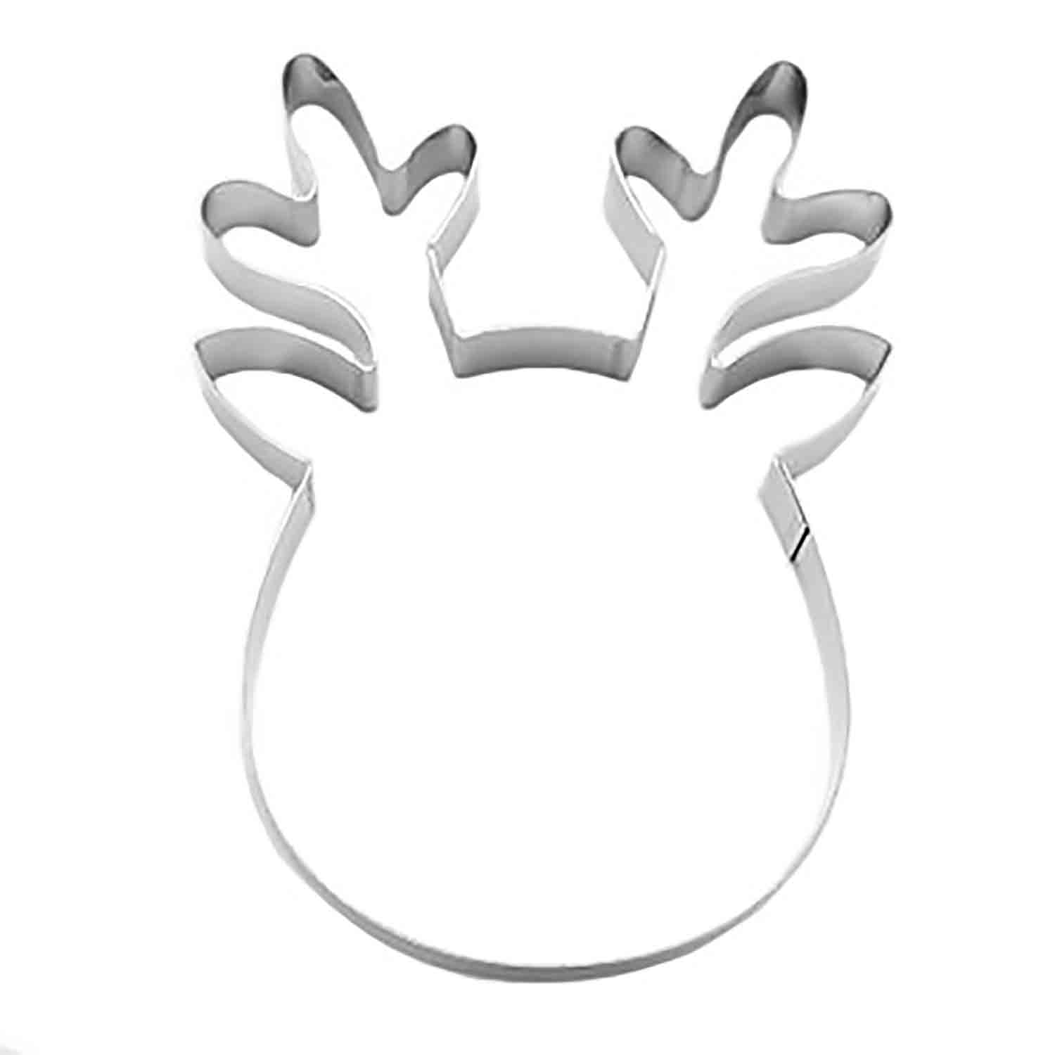 Rudolf Cookie Cutter