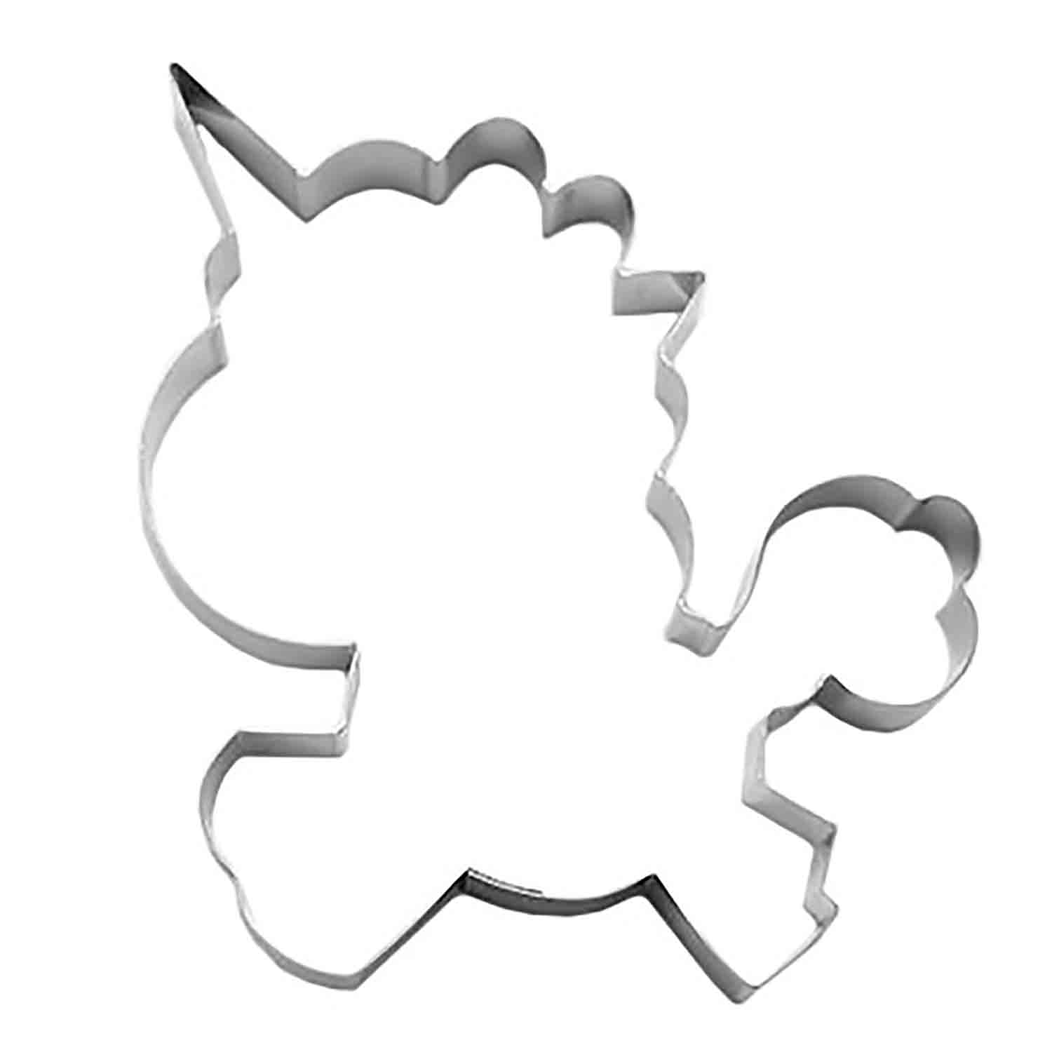 Rainbow Unicorn Cookie Cutter