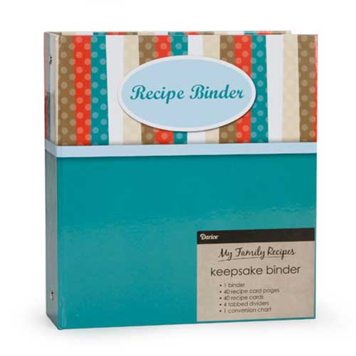 Recipe Binder - Modern Kitchen