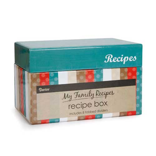 Recipe Box - Modern Kitchen