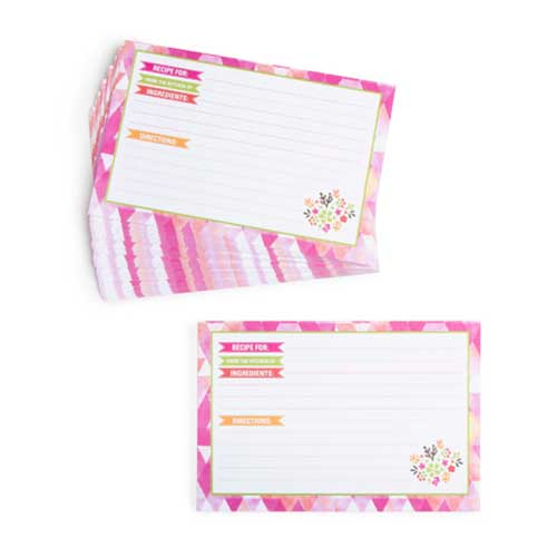 Recipe Cards - Watercolor